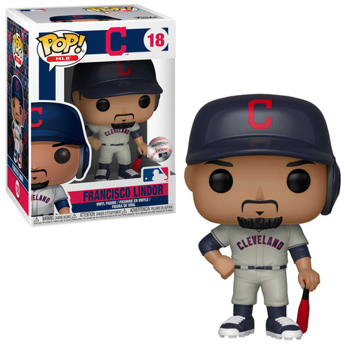 Funko MLB Cleveland Indians POP! Sports Baseball Francisco Lindor Vinyl Figure [Road Uniform]