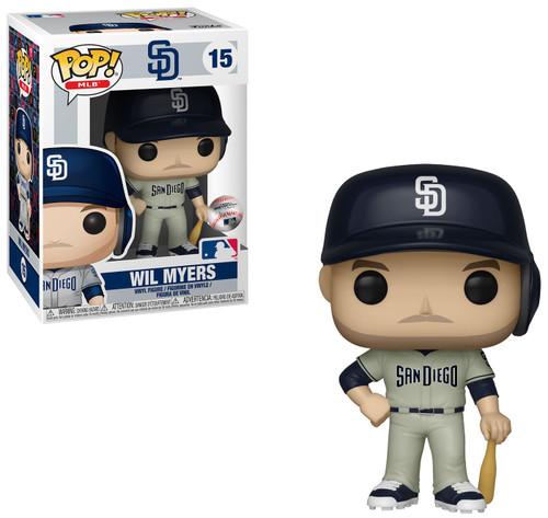 Funko MLB San Diego Padres POP! Sports Baseball Will Myers Vinyl Figure [Road Uniform]
