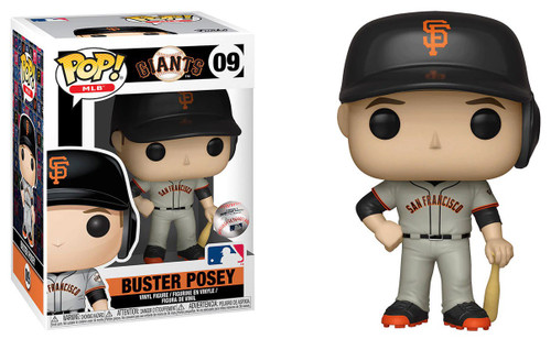 Funko MLB San Francisco Giants POP! Sports Baseball Buster Posey Vinyl Figure #09 [Road Uniform]