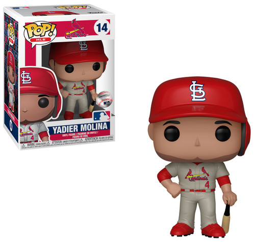 Funko MLB St Louis Cardinals POP! Sports Baseball Yadier Molina Vinyl Figure