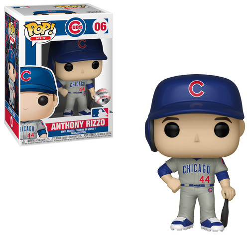 Funko MLB Chicago Cubs POP! Sports Baseball Anthony Rizzo Vinyl Figure [Grey Uniform]