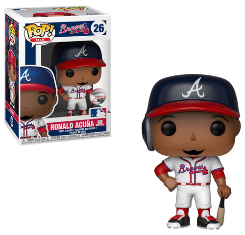 Funko MLB POP! Sports Baseball Ronald Acuna Jr. Vinyl Figure #26