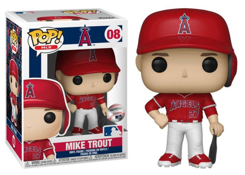 Funko MLB POP! Sports Baseball Mike Trout Vinyl Figure #08 [Alternate]
