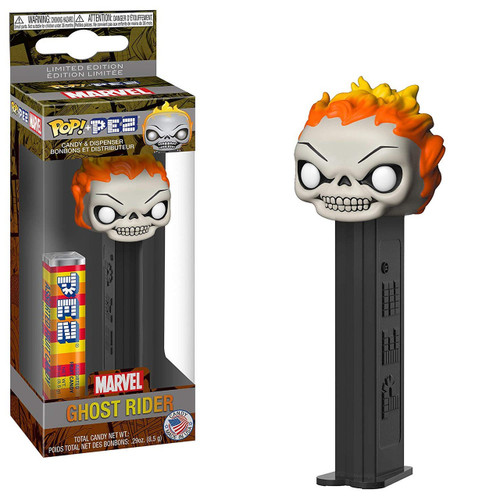 Funko Marvel POP! PEZ Ghost Rider Candy Dispenser