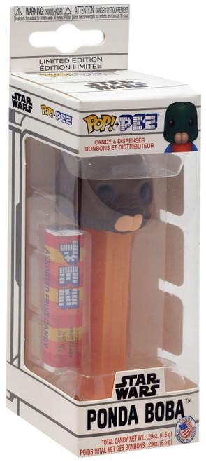 Funko Star Wars POP! PEZ Ponda Baba (Walrus Man) Candy Dispenser [Borwn Face, Regular Version]