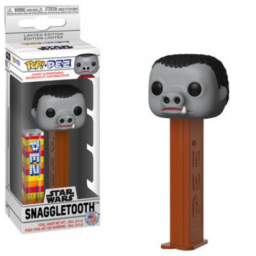 Funko Star Wars POP! PEZ Snaggletooth Candy Dispenser [Gray Face, Regular Version]