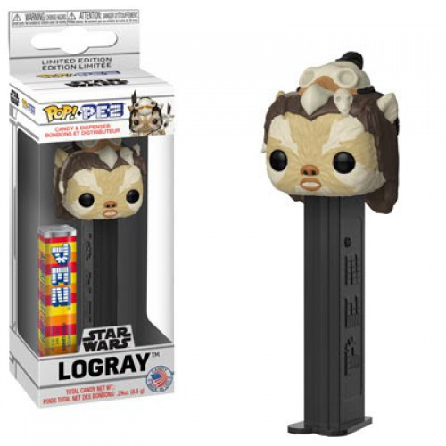 Funko Star Wars POP! PEZ Logray Candy Dispenser