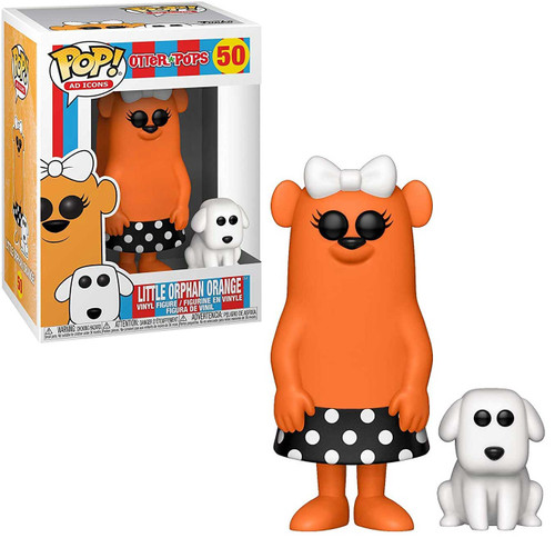 Funko Otter Pops POP! Ad Icons Little Orphan Orange Vinyl Figure #50