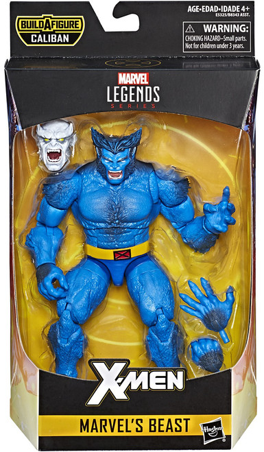 X-Men Marvel Legends Caliban Series Beast Action Figure