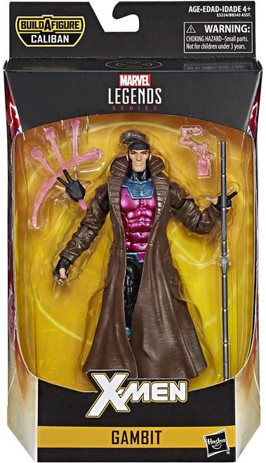X-Men Marvel Legends Caliban Series Gambit Action Figure