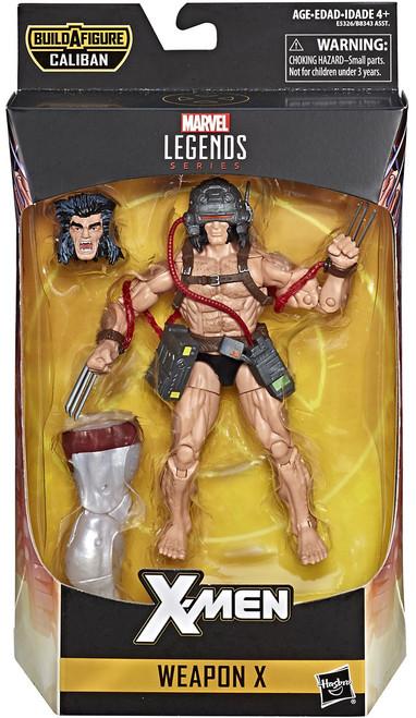 X-Men Marvel Legends Caliban Series Weapon X Action Figure