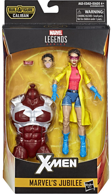 X-Men Marvel Legends Caliban Series Jubilee Action Figure