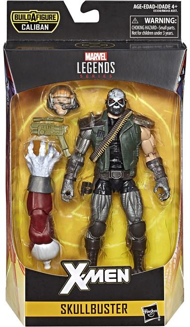 X-Men Marvel Legends Caliban Series Skullbuster Action Figure