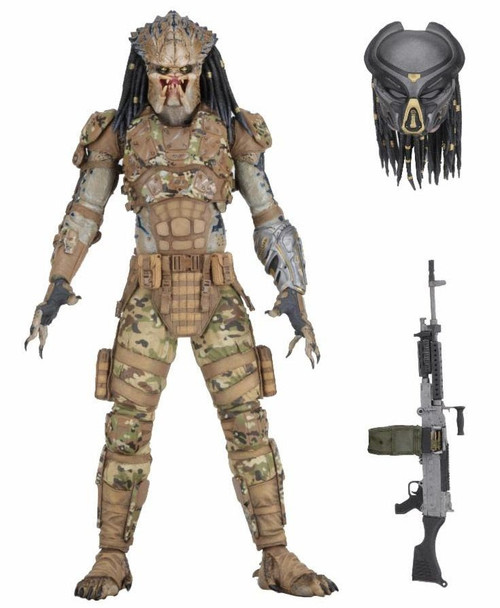 NECA Predator 2018 Movie Emissary #2 Concept Action Figure [Ultimate Version]