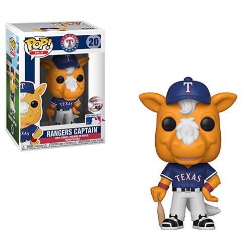 Funko MLB Texas Rangers POP! Sports Baseball Ranger's Captain Vinyl Figure #20 [Mascot]