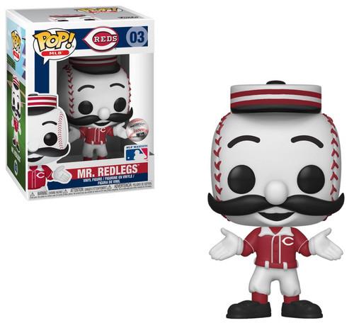 Funko MLB Cincinatti Reds POP! Sports Baseball Mr. Redlegs Vinyl Figure #03 [Mascot]