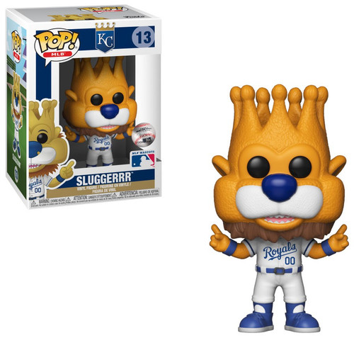 Funko MLB Kansas City Royals POP! Baseball Sluggerrr Vinyl Figure [Mascot]