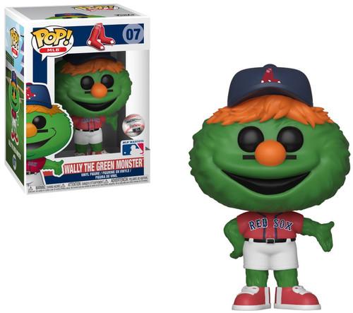 Funko MLB Boston Red Sox POP! Sports Baseball Wally the Green Monster Vinyl Figure [Mascot]
