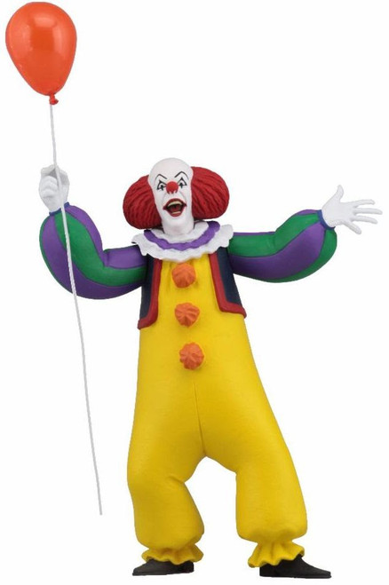 NECA IT Toony Terrors Series 1 Pennywise Action Figure [1990 Version]