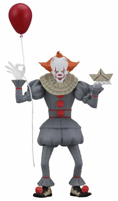NECA IT Movie (2017) Toony Terrors Series 1 Pennywise Action Figure [2017 Version]