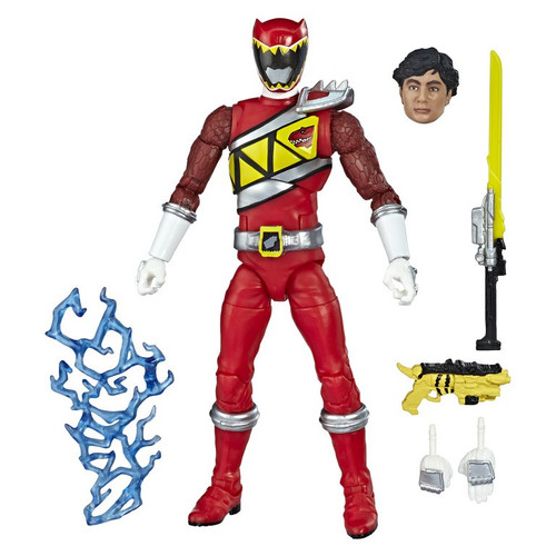 Power Rangers Dino Charge Lightning Collection Red Ranger Action Figure [Dino Charge]