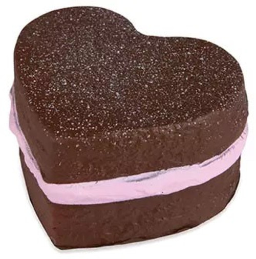Soft'N Slow Squishies Series 1 Sweet Shop Icing Heart Cake 3.5-Inch Squeeze Toy