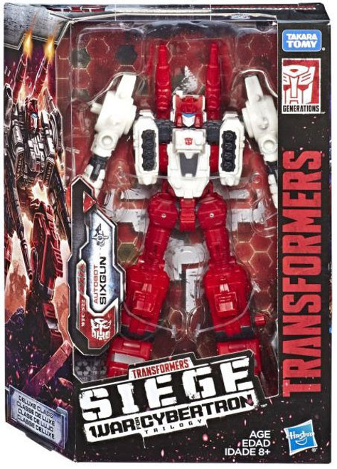 Transformers Generations Siege: War for Cybertron Trilogy Six-Gun Deluxe Action Figure WFC-S22