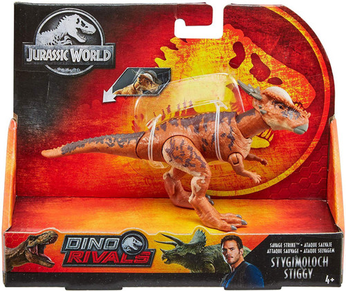Jurassic World Fallen Kingdom Dino Rivals Stygimoloch Stiggy Action Figure [Savage Strike]