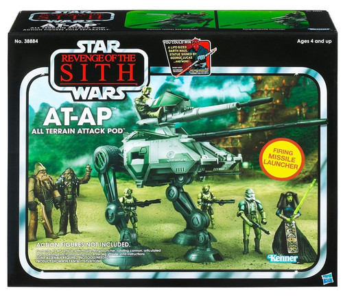 Star Wars Revenge of the Sith Vintage Collection Vehicles AT-AP Action Figure Vehicle