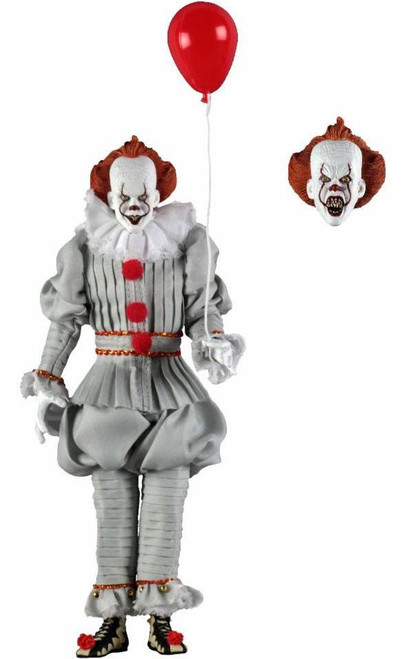 NECA IT Movie (2017) Pennywise Clothed Action Figure