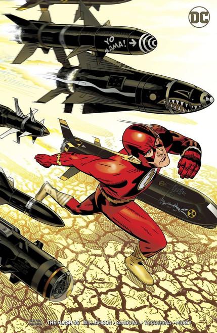 DC The Flash #65 Comic Book [Michael Golden Variant]