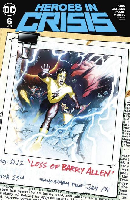 DC Heroes In Crisis #6 of 9 Comic Book [Ryan Sook Variant Cover]