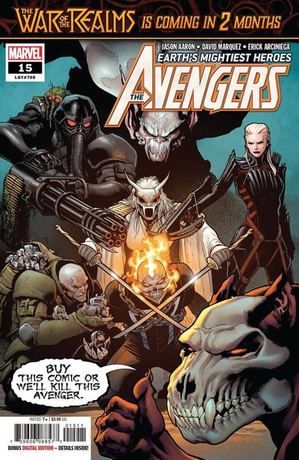 Marvel Comics Avengers #15 Comic Book