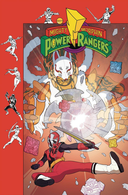 Boom Studios Mighty Morphin Power Rangers #36 Beyond The Grid Comic Book [Murphy Variant]
