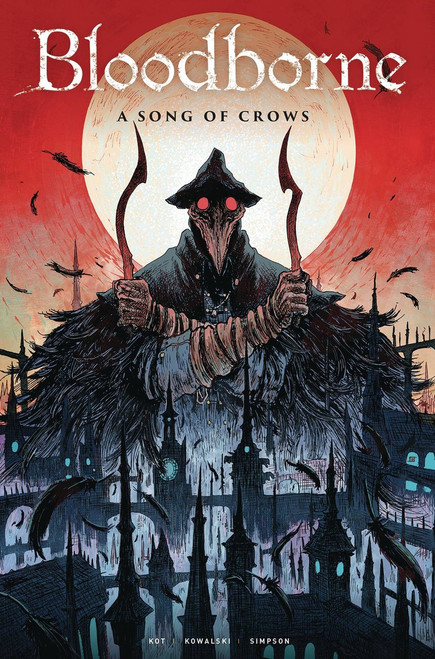 Titan Comics Bloodborne #9 A Song of Crows Comic Book