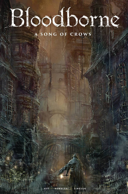 Titan Comics Bloodborne #9 A Song of Crows Comic Book [Concept art Cover C]