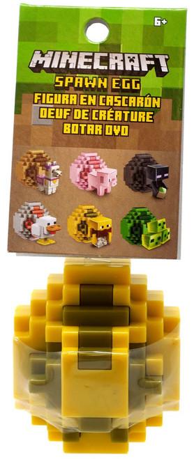 Minecraft Spawn Egg Yellow Gray Egg Mini Figure