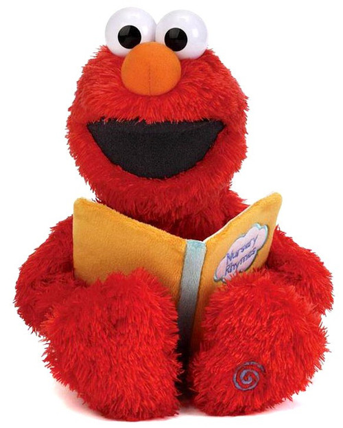 Sesame Street Nursery Rhyme Elmo 15-Inch Plush with Sound (Pre-Order ships May)