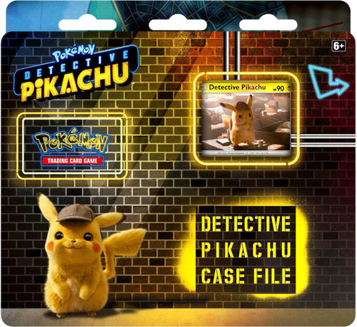 Pokemon Trading Card Game Detective Pikachu Case File [3 Booster Packs, Promo Card & Coin!]