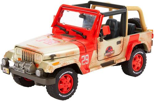 Jurassic World Fallen Kingdom Jeep Wrangler Diecast Vehicle