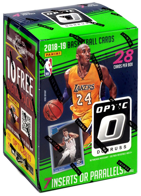 NBA Panini 2018-19 Donruss Optic Basketball Trading Card BLASTER Box [7 Packs]