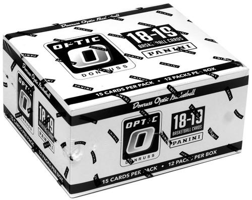 NBA Panini 2018-19 Donruss Optic Basketball Trading Card FAT Pack Box [12 Packs]