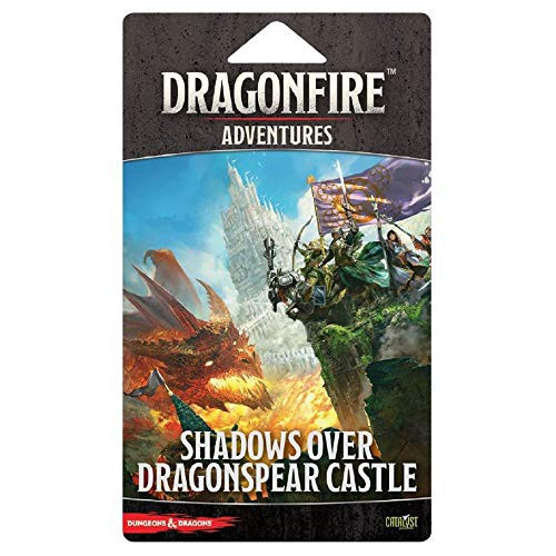 Dungeons & Dragons Dragonfire Shadows Over Dragonspear Castle Deck Building Game Adventure Pack