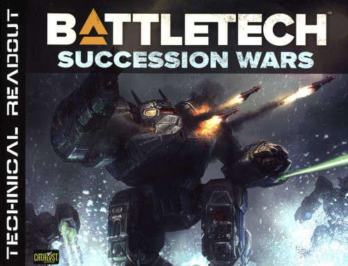 BattleTech Technical Readout: Succession Wars Board Game Accessory Book