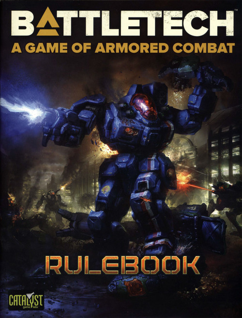 BattleTech Quick Start Rulebook Softcover Book [56-Pages]