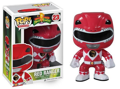Funko Power Rangers POP! TV Red Ranger Vinyl Figure #23 [Damaged Package]