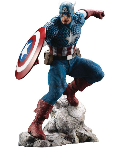 Marvel Avengers ArtFX Premier Captain America 7-Inch Limited Edition Statue