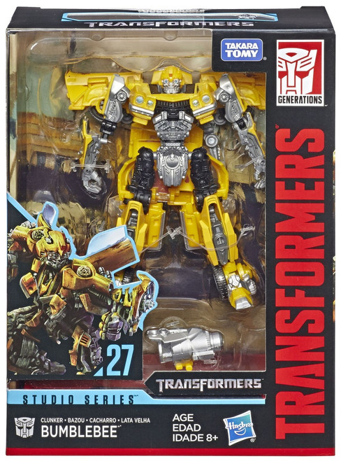 Transformers Generations Studio Series Clunker Bumblebee Deluxe Action Figure [Damaged Package]