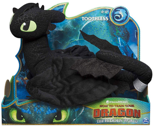 How to Train Your Dragon The Hidden World Toothless 14-Inch Deluxe Plush