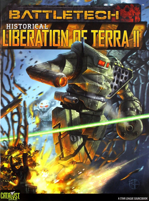 BattleTech Historical: Liberation of Terra II Board Game Accessory Book